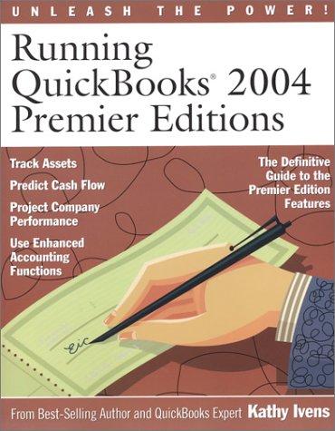 Running QuickBooks 2004 Premier Editions
