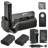 Battery Grip Bundle F/ Nikon D5100,