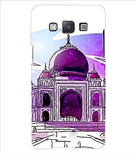 ColourCraft Taj Mahal Back Case Cover for SAMSUNG GALAXY E7