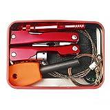 Emergency Survival Kit Self Help Outdoor Sport Camping Hiking Gear Tools Box Set