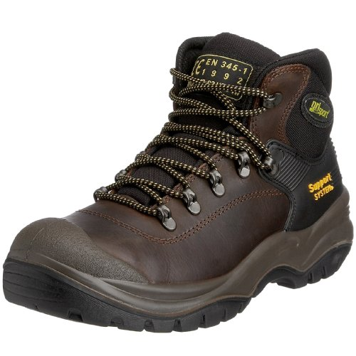 Grisport Men's Contractor Safety Boot Brown AMG001 5 UK