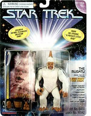 Picture of Toy Rocket Star Trek Series 5 Mugato Action Figure (B001RE2MEK) (Star Trek Action Figures)