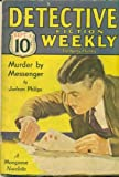 img - for Detective Fiction Weekly. Sep. 3, 1932 book / textbook / text book