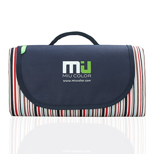 Find Bargain MIU COLOR® Durable Outdoor Camping Picnic Blanket with Handles, Moisture-proof, Water-...