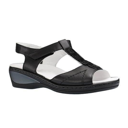 Ara-Colmar de Ang 12-39021-Sandales-Noir XXL Chaussures Femme dans différentes tailles