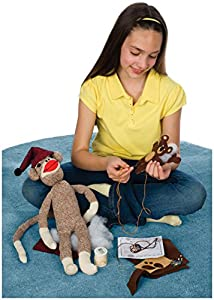 Toysmith/Toy Investments Inc - Sock Monkey Kit