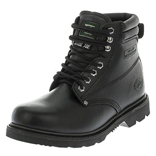 fuda genuine leather steel toe 6 inch work boot all