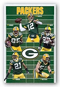 Green Bay Packers - Team NFL (Aaron Rodgers Clay Matthews Donald Driver Charles Woodson