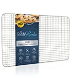 CoolingBake Wire Cooling Rack, Oven Safe - For Cooling or Baking - 100% Stainless Steel, 10