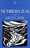 Numbers 21-36 (The Anchor Yale Bible Commentaries)