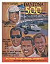 10th Annual 1968 Daytona 500 Canvas 22 x 30 Program Print – Mounted Memories Certified – Original…