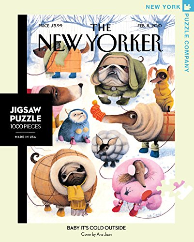 New York Puzzle Company - New Yorker Baby It's Cold Outside - 1000 Piece Jigsaw Puzzle (New York Puzzle Company 1000 compare prices)