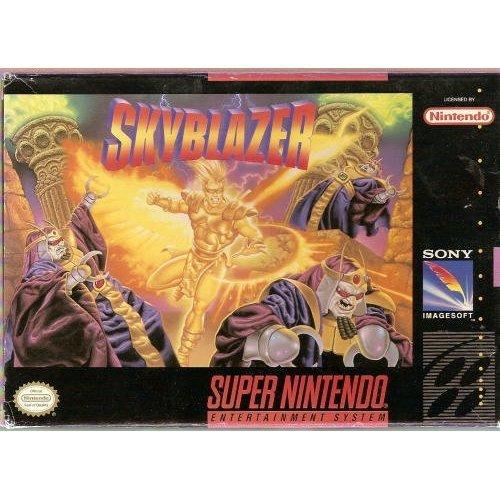 Skyblazer - Nintendo Super Nes front-1035368