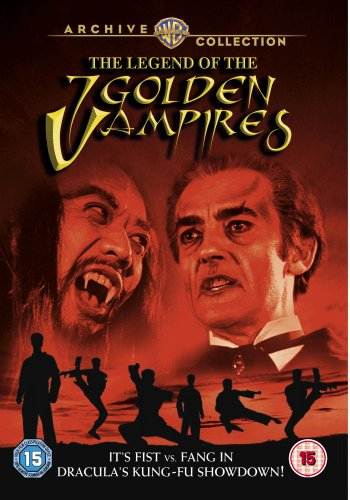 The Legend Of The 7 Golden Vampires [DVD] [1974]