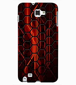 ColourCraft Printed Design Back Case Cover for SAMSUNG GALAXY NOTE 1