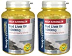 SimplySupplements Cod Liver Oil 1000m...