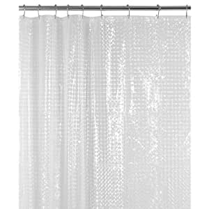 maytex cubitz peva shower curtain clear home