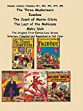 img - for Classic Comics Volumes #1, #2, #3, #4, #5 The Three Musketeers, Ivanhoe: The Three Musketeers, Ivanhoe, The Count of Monte Cristo, The Last of the Mohicans and Moby Dick book / textbook / text book