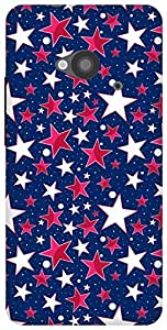 The Racoon Grip printed designer hard back mobile phone case cover for HTC One 802D. (twinkle)