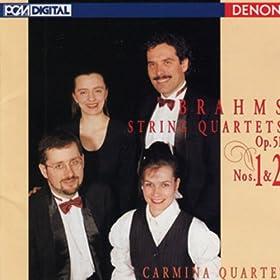 String Quartet No. 1 in C Minor, Op. 51: IV. Allegro