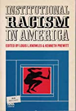 Institutional Racism in America