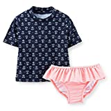 Carter's Baby Girls 2 Piece Rashguard Set
