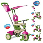 Smart Trike 4-in-1 Vanilla Tricycle -...