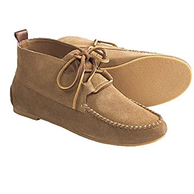 lands end womens constance moc bootie