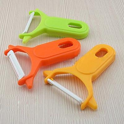 Fruit Vegetable Carrot Spud Potato Slicer French Speed Ceramic Peeler Cutter