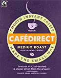 Cafédirect Fairtrade Medium Roast Freeze Dried Coffee Sticks x 250 (Pack of 4)