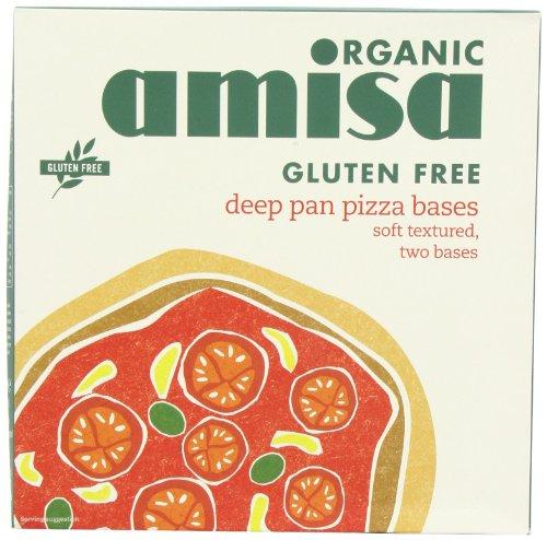 Amisa Organic Gluten Free Pizza Base 260 G (Pack of 3)