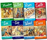 Enid Blyton Enid Blyton's Adventure series Pack 8 Books Collection set RRP £39.92 (The Valley of adventure, The Island of adventure, The Castle of advneture, The Sea of adventure, The Mountain , The Circus , The River , The Ship) (Adventure series)
