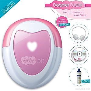 Doppler foetal original coffret luxe + 1 tube de gel 250ml LIVRAISON GRATUITE