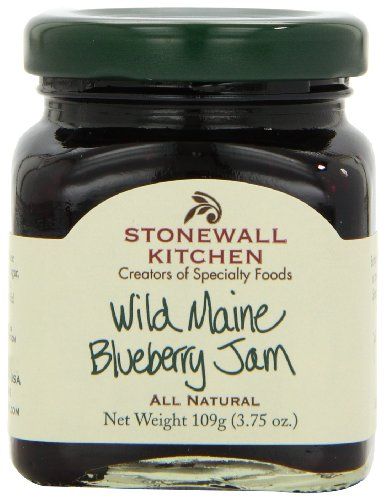Stonewall Kitchen Wild Maine Blueberry Jam Ounce Pack Of 6 Food Beverages Tobacco Food