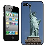 Fancy A Snuggle 'Statue of Liberty New York USA' Clip On Back Cover Hard Case for Apple iPhone 4/4S