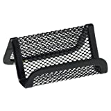 Rolodex Mesh Collection Business Card Holder, Black (22251ELD)