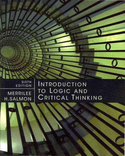Introduction to Logic and Critical Thinking Introduction...