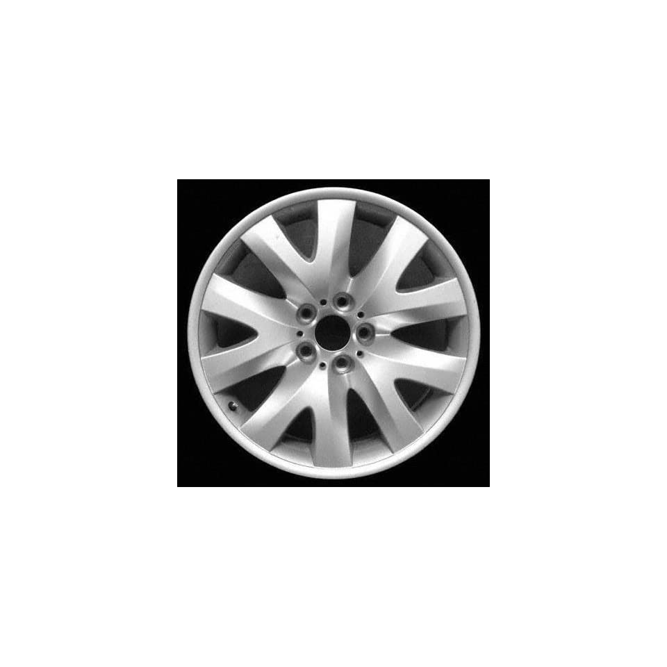 02 05 BMW 745LI 745 li ALLOY WHEEL RIM 19 INCH, Diameter 19, Width 9, Lug 5 (5 SPOKE, STYLE #126), SILVER, 1 Piece Only, Remanufactured , (center cap not included) (2002 02 2003 03 2004 04 2005 05) AL