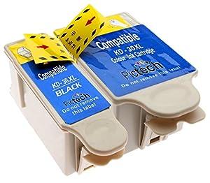1 Compatible Set of Black & Colour Printer Ink Cartridges to replace Kodak 30 XL (2 Inks) for Kodak ESP C110, C310, C315, Office 2150, 2170 & Hero 3.1, 5.1 (Contains: 1x 30B XL & 30CL XL) **by Printer Ink Cartridges**