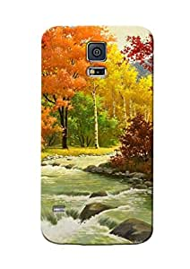 Sowing Happiness Printed Back Cover for Samsung Galaxy S5 Mini