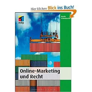 eBook Cover für  Online Marketing und Recht mitp Business