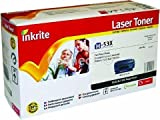 Inkrite Remanufactured HP No.53X Black Toner Cartridge - Inkrite hp laserjet P2015 hi-cap black compatible toner cartridge (HP53X)