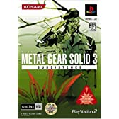 METAL GEAR SOLID 3 SUBSISTENCE (通常版)