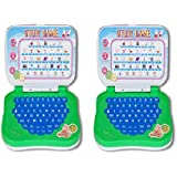 Multicolour Mini Learning Laptop - Pack Of 2