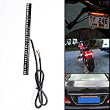 1pcs All-in-One Flexible 33-SMD LED Strip with Integrated Turn Signal & Running Stop Brake Tail Light Lamp Mode