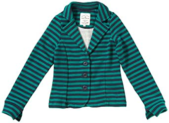 Tom Tailor - Pull - Fille - Bleu (6450) - FR : 16 ans (Taille fabricant : 176)