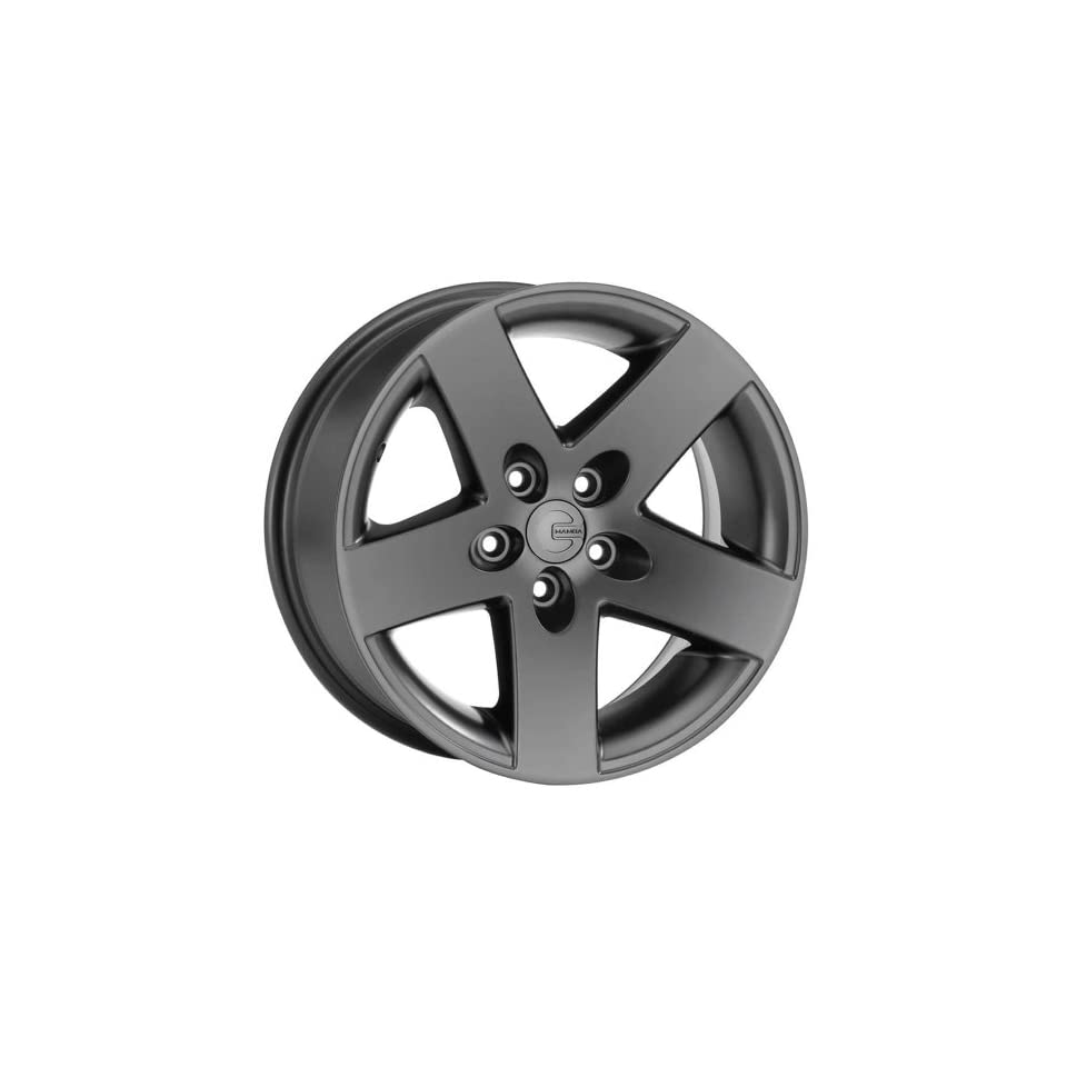 Mamba MR1X 16 Black Wheel / Rim 5x4.5 with a 13mm Offset and a 71.50 Hub Bore. Partnumber MR1X686513B