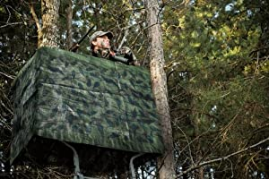 Amazon Com Disguise It Camo Wrap For Deer Stands Or