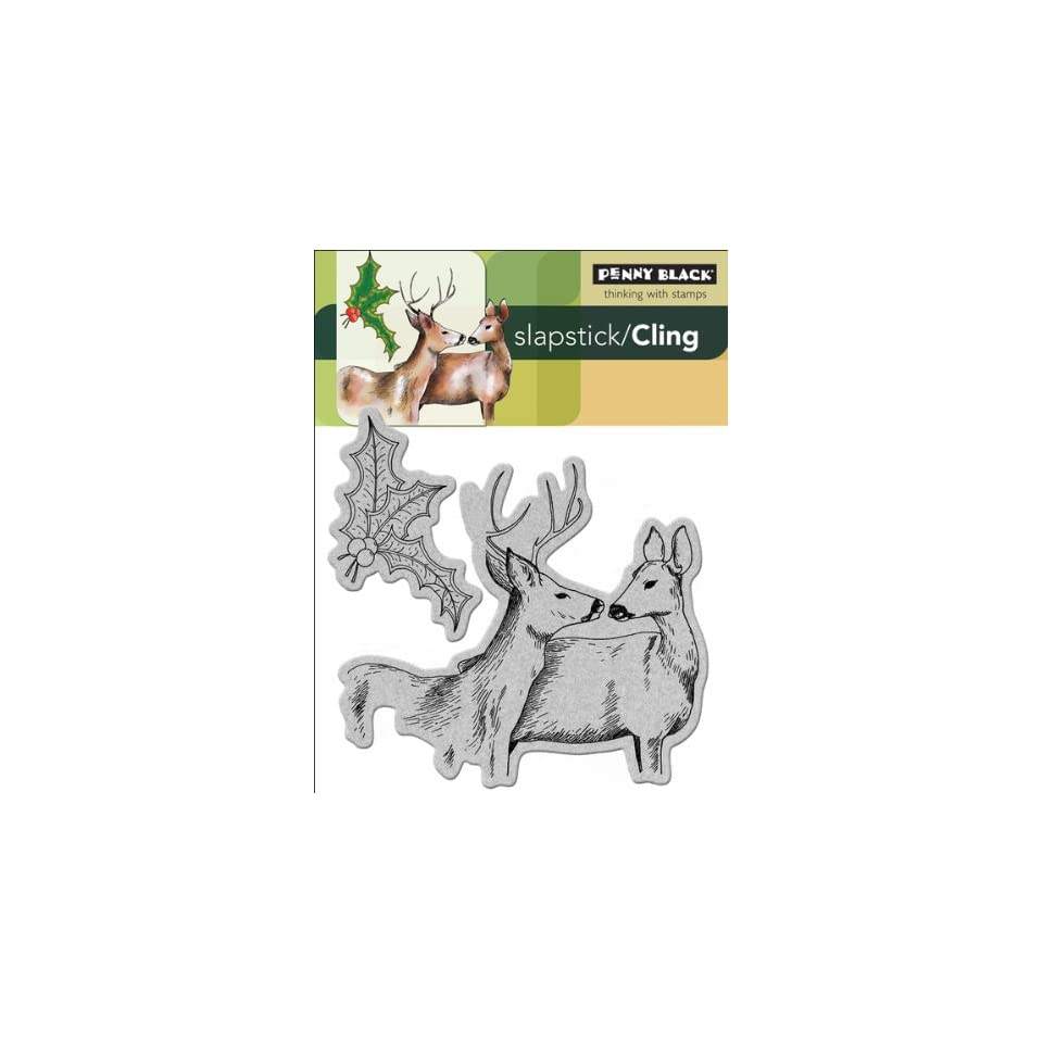 Penny Black Cling Rubber Stamp, Forest Friends   899346