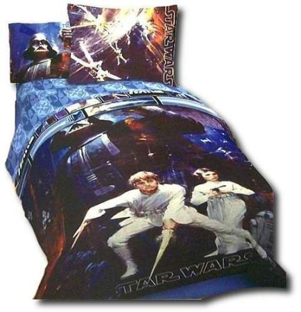Sale!! Star Wars Saga Full Size Comforter